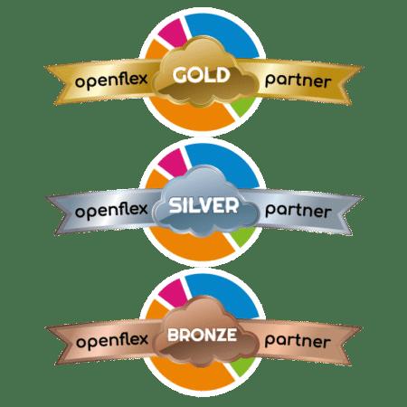 Les 3 niveaux Revendeurs du Programme Openflex