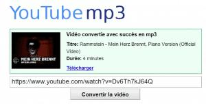 Télécharger la musique en mp3!