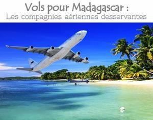 Vols pour Madagascar