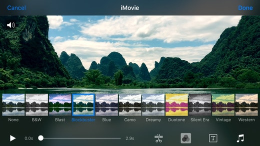 iMovie Logiciel Montage Video MAC iOS