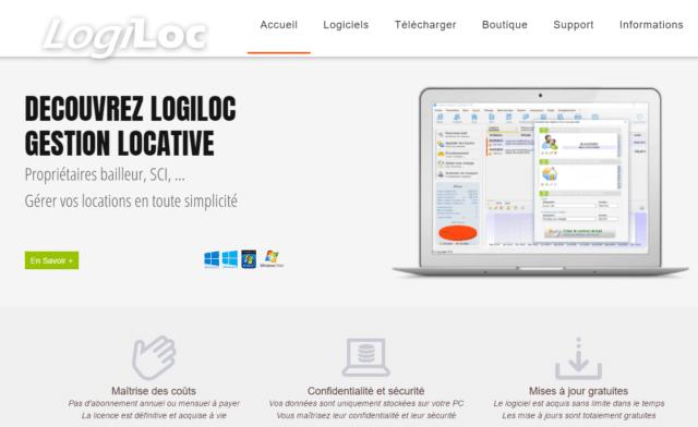 LogiLoc, logiciel de gestion locative en ligne