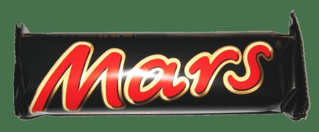 Mars, une barre chocolatée connue dans le monde entier