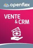 Module Vente & CRM d'Openflex