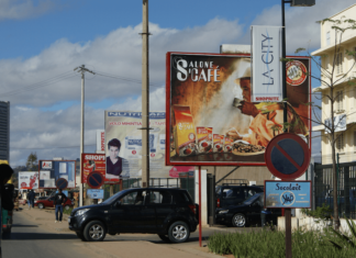 Panneaux publicitaires Antananarivo