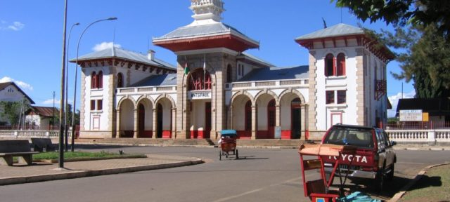 Ville d'Antsirabe, Madagascar