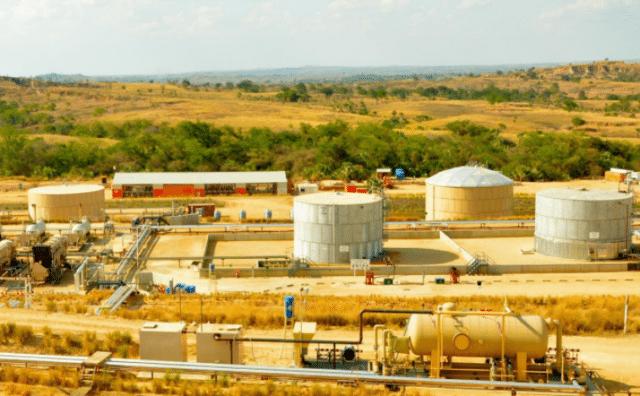 Installations de Madagascar Oil sur le site de Tsimiroro