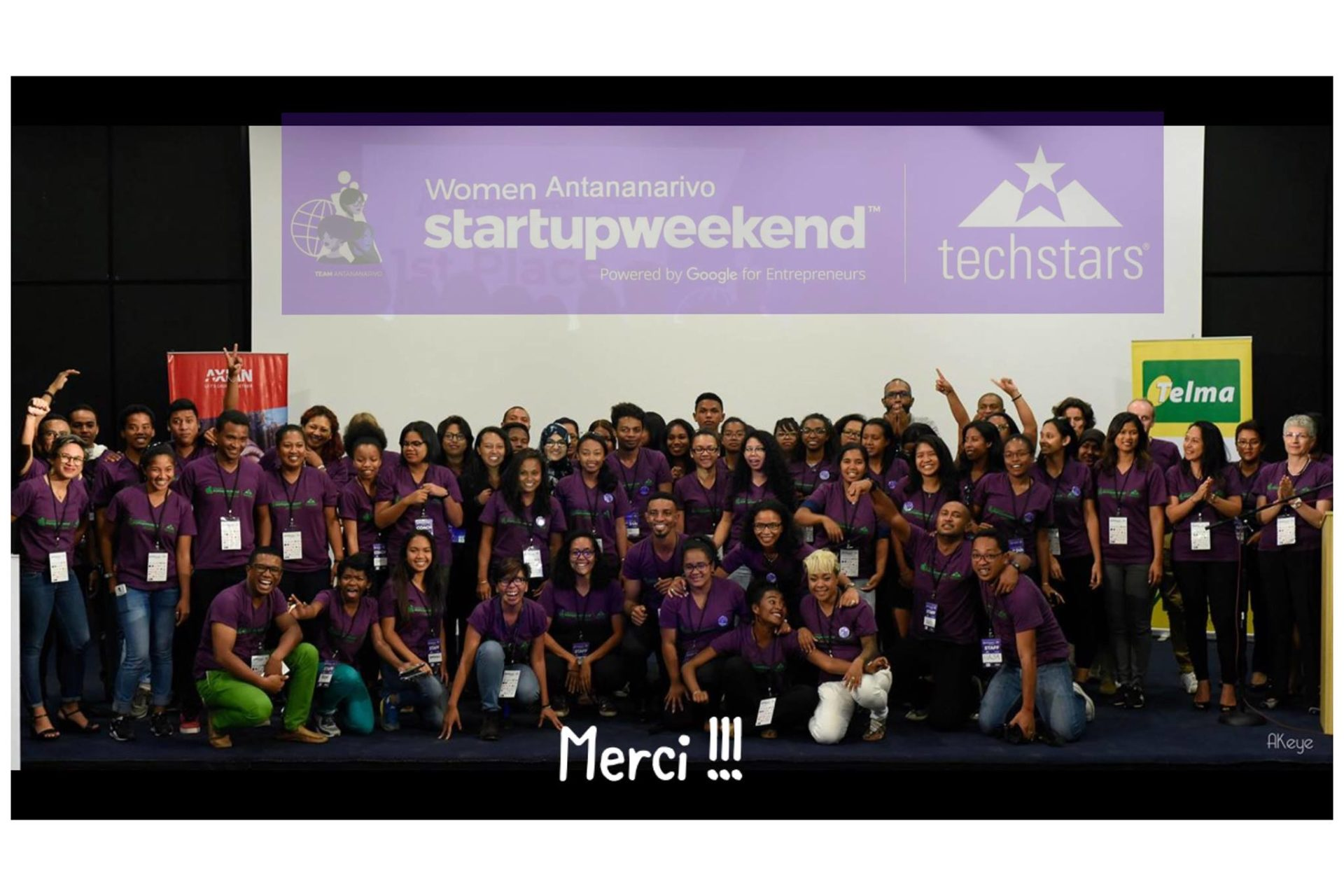 Global Startup Weekend Women Antananarivo 2018