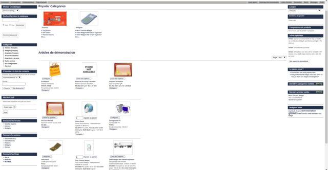 Capture d'écran Ofbiz
