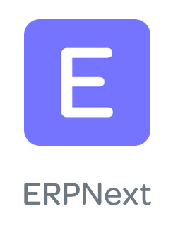 Logo Erpnext, ERP gratuit