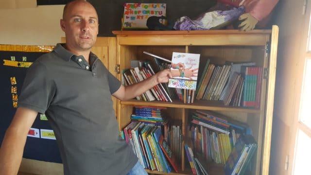 Eric Hanrion, directeur de l'école associative L'île aux enfants