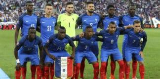 L'équipe de France de football 2018