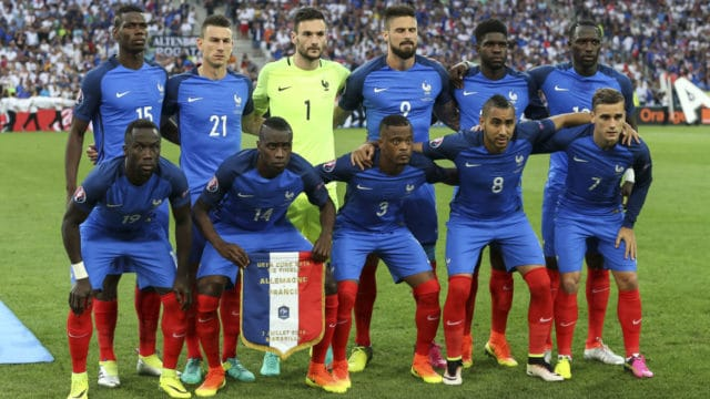 L'équipe de France de football 2018
