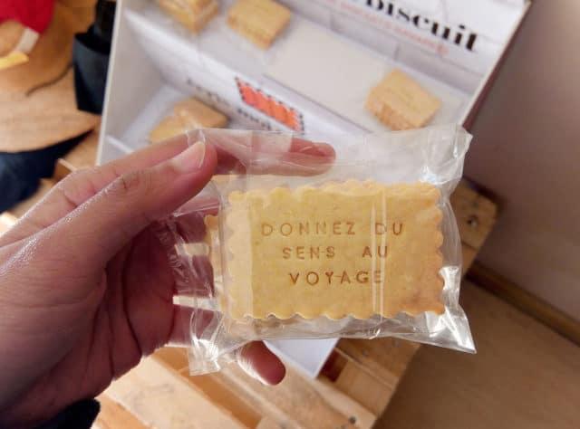 Des biscuits qui vous incitent à partir en vacances :-)