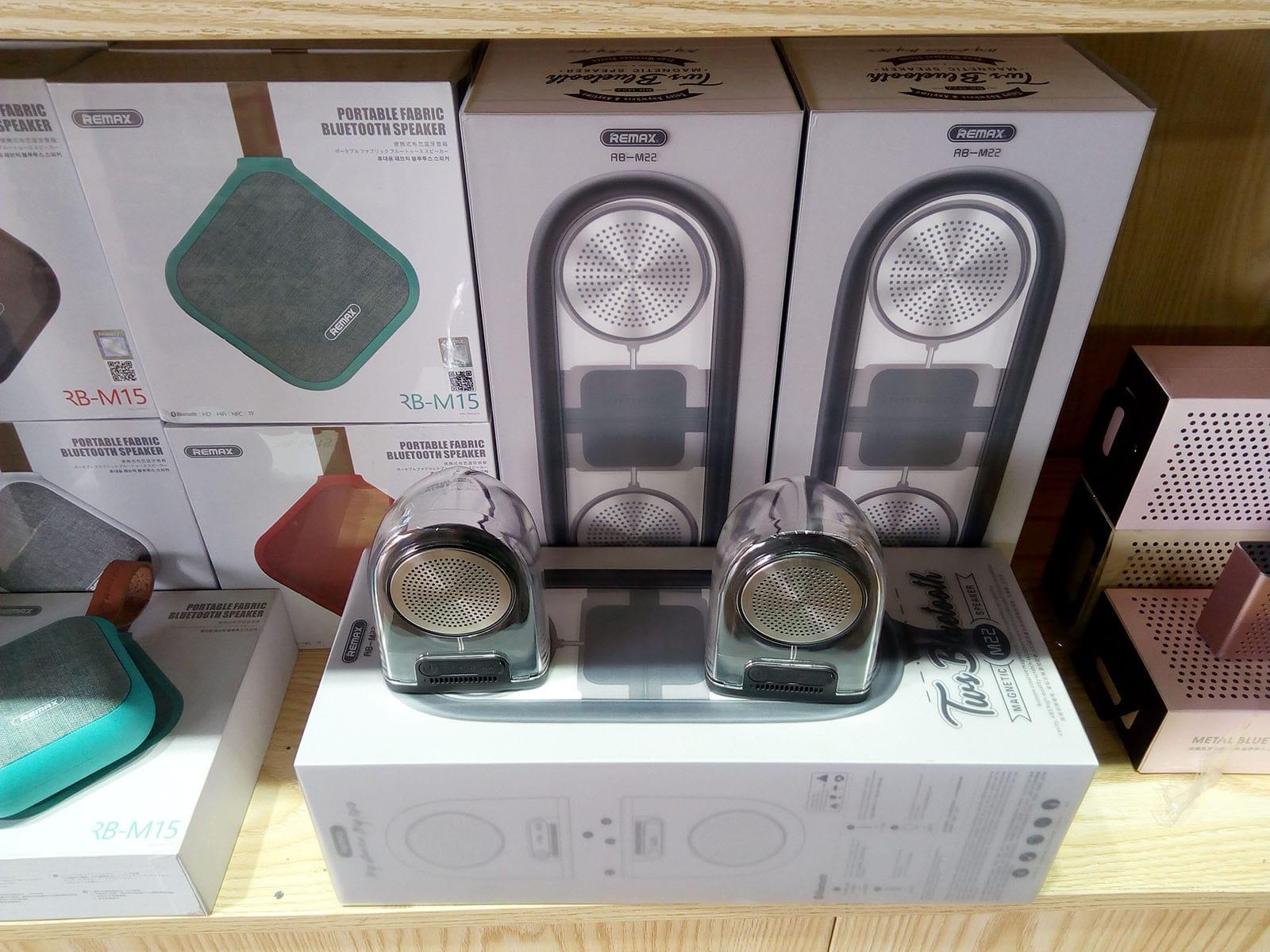 Le speaker magnétique Remax