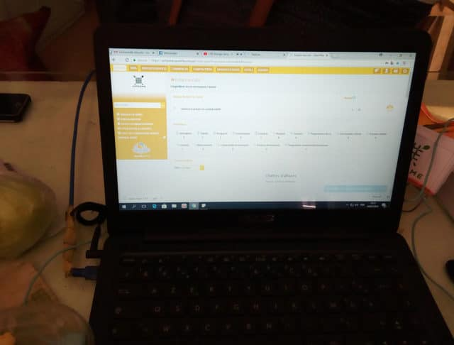 Openflex utilisé par les gérants pour la gestion du restaurant et d'Écris moi un biscuit