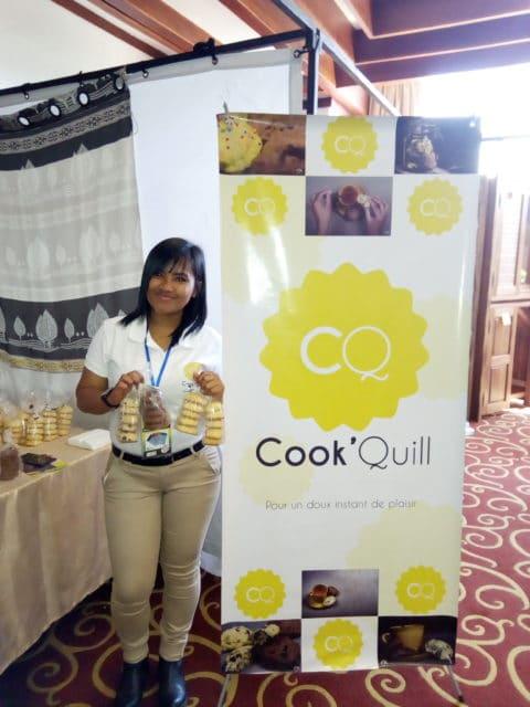 Anja Ramandiamanana, fondatrice et gérante de Cook'Quill