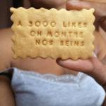 Quelques exemples de biscuits cinglés qui sortent de la fabrique