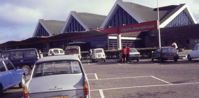 L'aéroport international d'Ivato, lieu d'arrivée de la majorité des touristes étrangers