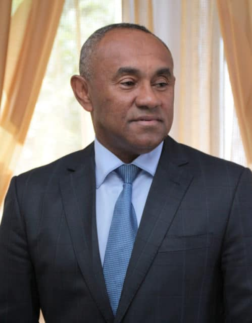 M. Ahmad Ahmad, premier malgache président de la CAF