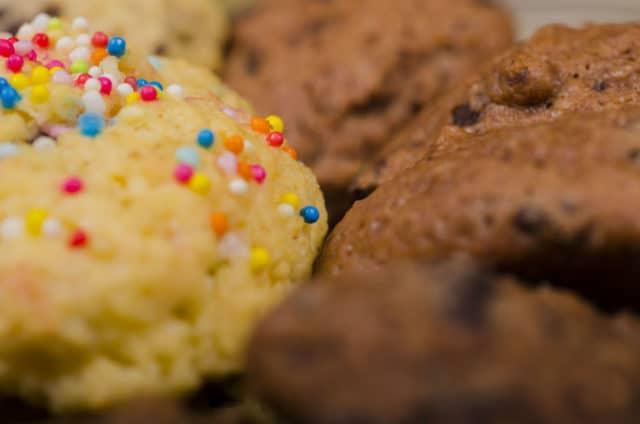 Le cookie sweety, avec ses vermicelles de toutes le couleurs