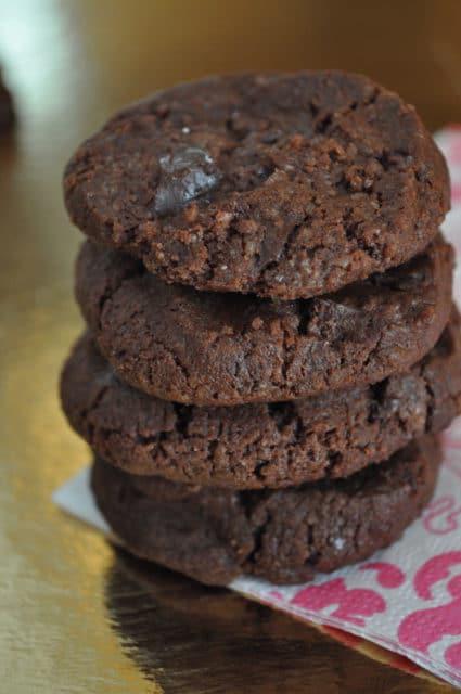 Tout chocolat, le cookie qui fait saliver:D