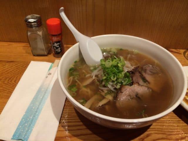 Une bonne soupe van tan mine spéciale char siu:D