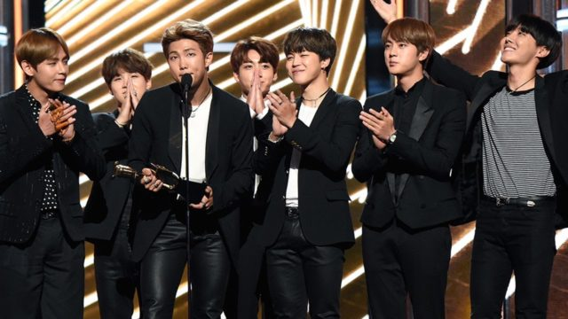 BTS aux Billboard Music Award 2017