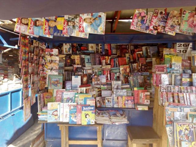 Les Malgaches se fournisent surtout en livres chez les bouquinistes