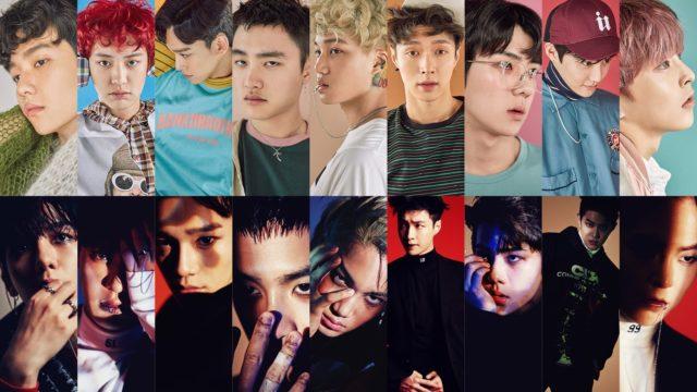 Un comeback des EXO: mêmes personnes, deux concepts totalement différents