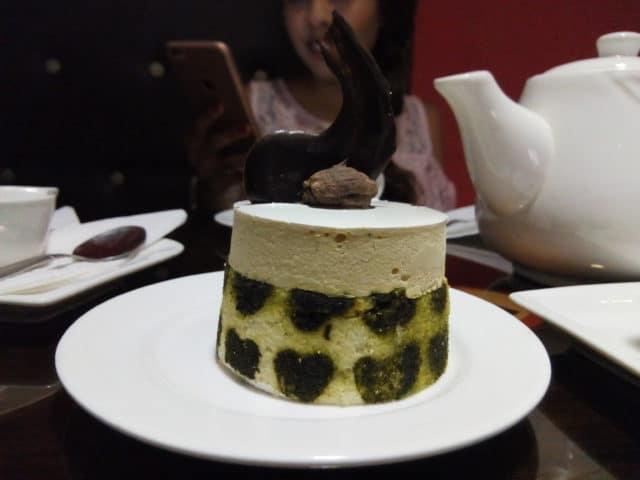 Le gâteau  «Cœur d'Amande»