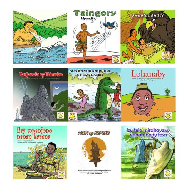 Boky Namako, des petits livres de contes pour enfants à 1500Ariary