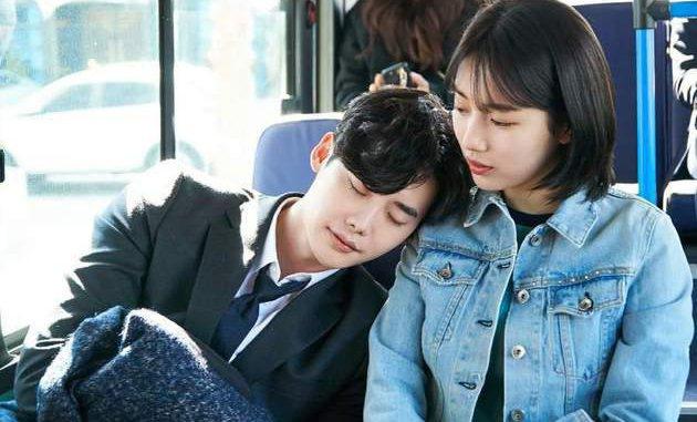 """Oppa, celui qui change tes attentes envers un homme xD, """"While you were sleeping"""" (2016-2017) avec Lee Jong Suk et Bae Suzy (Miss A)"""