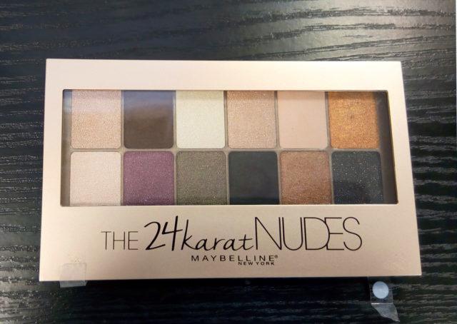 La palette 24karat Nudes