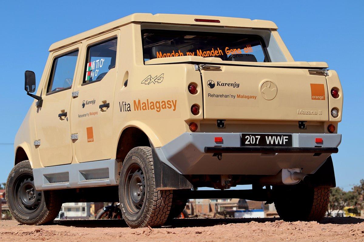 La Karenjy, une voiture Vita Malagasy