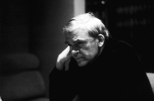 Milan Kundera l'auteur franco-tchèque, prix littéraire Château La Tour Carnet en2017