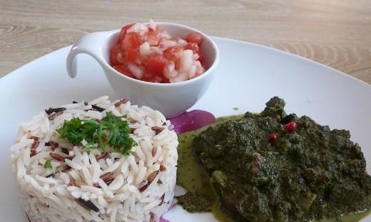 Une revisite du ravitoto, un plat typiquement malagasy