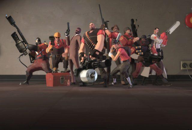 Team Fortress 2: un jeu vidéo de tir fondé sur le jeu d'équipe