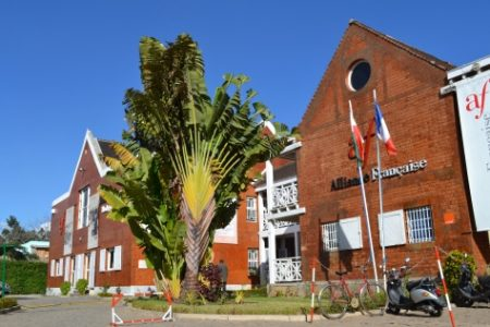 L'Alliance Française de Tananarive à Andavamamba.