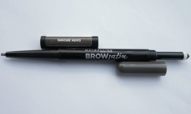 Le crayon à sourcil Brow Satin Dark Brown à deux bouts