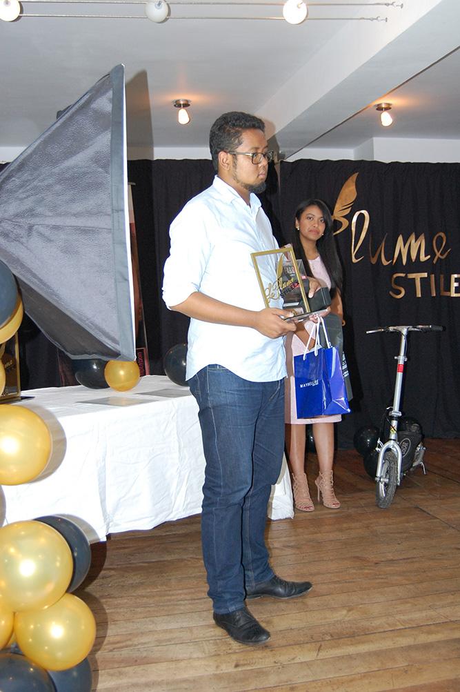 """Nasolo Rado Andriamanantsoa, deuxième du concours pour son texte """"Un jour d'octobre sous les jacarandas"""""""