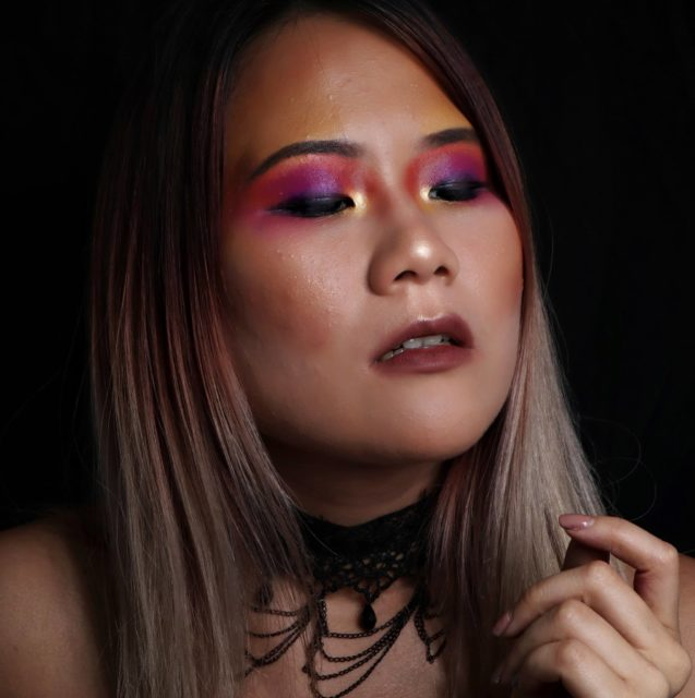 Chan Yam Carleen, une make-up artist venue spécialement de Maurice