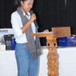 Sitraka, lisant le texte de la lauréate : Six Sept