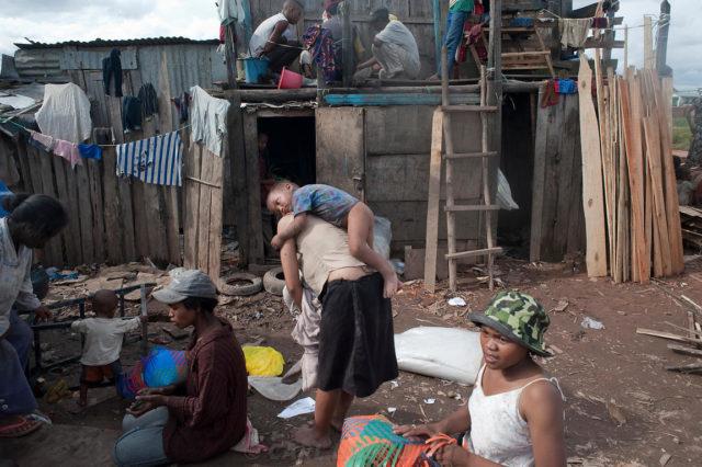 La misère dans la ville d'Antananarivo, un phénomène courant et malheureusement habituel