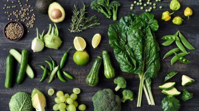 Mangez le maximum de légumes verts!