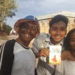Les heureux gagnants du GTB au Rova d'Ambohidratrimo