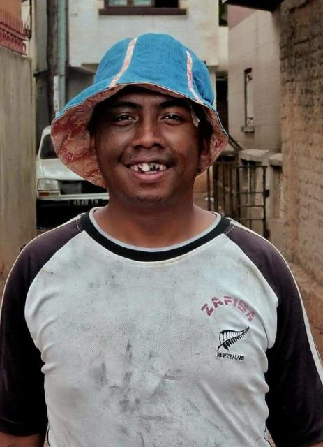 Pas facile de reconnaître Ankoay, surtout lorsqu'il est déguisé de la sorte!