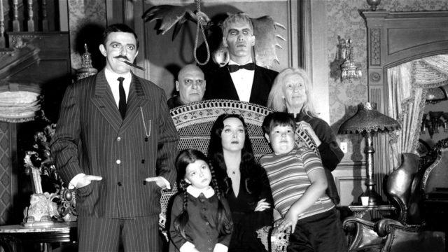 """Le cast de la série """"La famille Addams"""""""