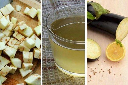 Le jus d'aubergine: dégueulasse mais efficace!