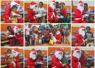 Magie et esprit des fêtes à l'orphelinat Tsimoka avec l'opération de Noël Stileex