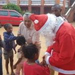 Le Père Noël a connu un franc succès auprès des enfants